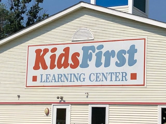 Printed Metal Sign for Kids First Learning Center Made by L3 Sign & Image